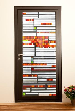Ușă metalică de exterior Sunset - uși frumoase din metal cu garanție 25 de ani